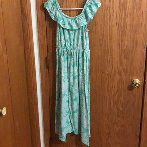 Nice off shoulder dress for summer
